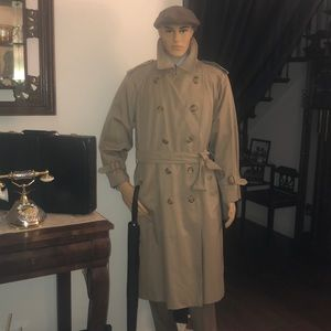 Burberrys of London authentic Trench coat.